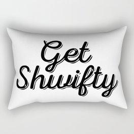 Baesic Get Shwifty (Script) Rectangular Pillow