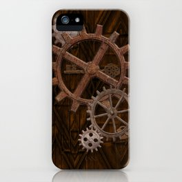 Comforts of Steampunk iPhone Case