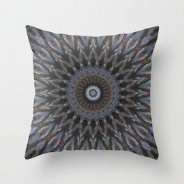 Before the daybreak - Mood mandala Throw Pillow