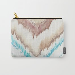 Frozen Chevron Carry-All Pouch