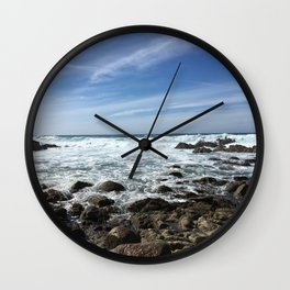 road number one Wall Clock
