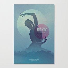 Open Yoga Gallery Canvas Print