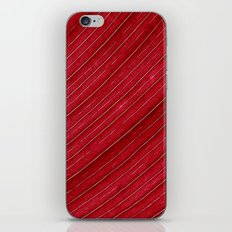 red leaf I iPhone & iPod Skin