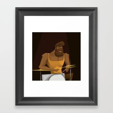 Drummer Framed Art Print