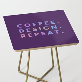 Coffee Design Repeat Side Table