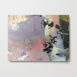 Palette Abstractions 3 Metal Print