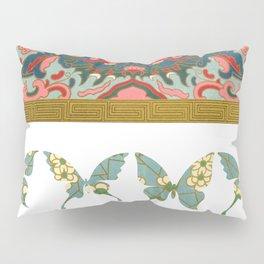 Ornamental Butterfly Pillow Sham