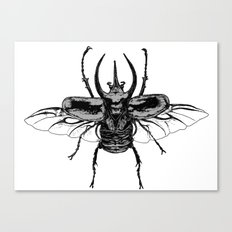 Scarab one Canvas Print