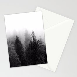 Silent Forest Dark Stationery Cards