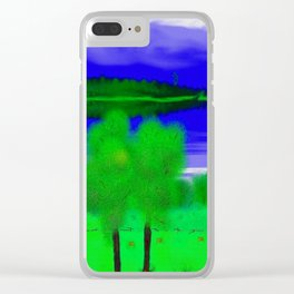 Wonderful view Clear iPhone Case