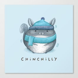 Chinchilly Canvas Print