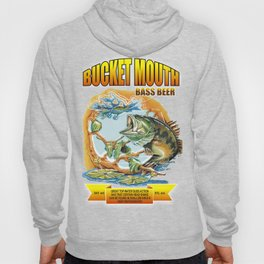 Bucket Mouth Bass Beer Hoody