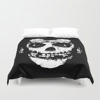 misfits Duvet Covers featuring FIEND CUATES by UNDEAD MISTER / MRCLV