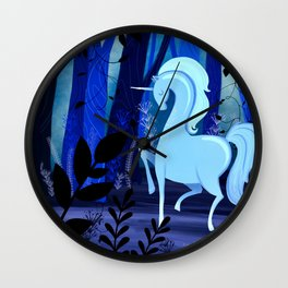 The Loveliest Of Them All Was The Unicorn Wall Clock