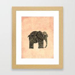Boho Ella Framed Art Print