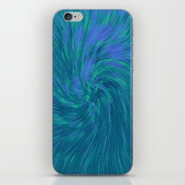 COMING OUT OF HYPERDRIVE IN THE MALVES SYSTEM iPhone Skin