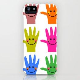 Happy Hands iPhone Case