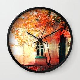 Season of Fire Wall Clock