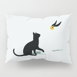 Cat and Snitch Pillow Sham