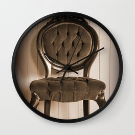 Antique Chair Wall Clock