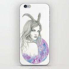 Zodiac - Capricorn iPhone Skin