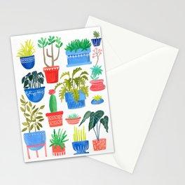 House Plants Stationery Cards