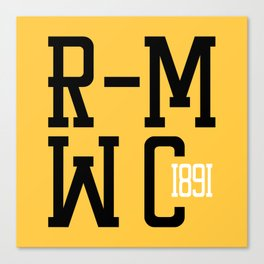 R-MWC (yellow) Canvas Print