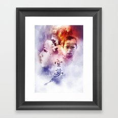 Lito Boy and E Framed Art Print
