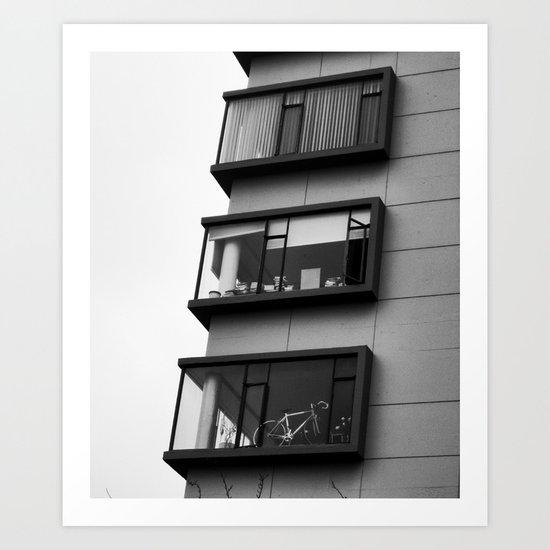 Three Lifestyles Art Print