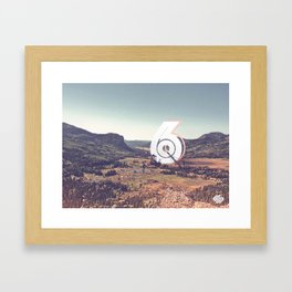 Characters in Nature Framed Art Print