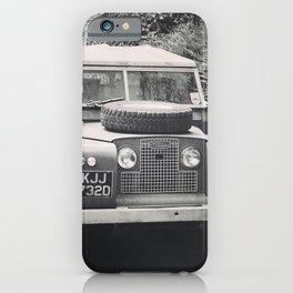 Four Wheels iPhone Case