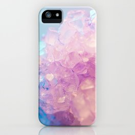 Purple Quartz Crystal iPhone Case