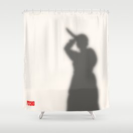 Psycho Shower Shower Curtain