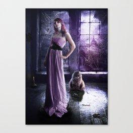 In the attic Canvas Print