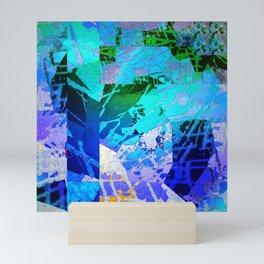 Blue Mantle Mini Art Print