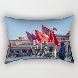 Pride of Jemaa el-Fna (Marrakech) Rectangular Pillow