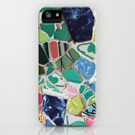 Tiling with pattern 6 iPhone Case