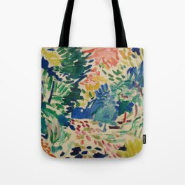 Landscape at Collioure - Henri Matisse - Exhibition Poster Tote Bag