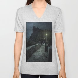 When the night comes Unisex V-Neck