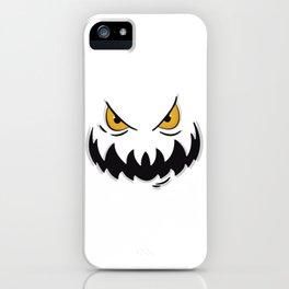 Evil face iPhone Case