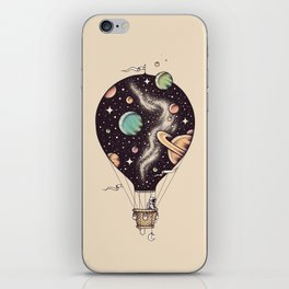 Interstellar Journey iPhone Skin