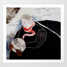 The Tree & Mind Art Print