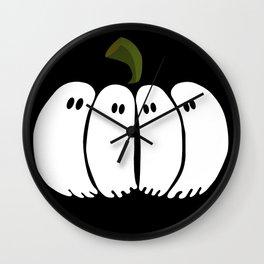 Pumpkin Spooks Wall Clock