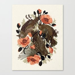 Spangled & Plumed Canvas Print