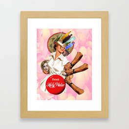 Coca-Christ Framed Art Print