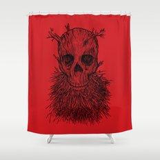 The Lumbermancer Shower Curtain