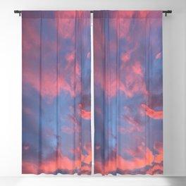 Cotton Candy Clouds Blackout Curtain