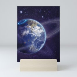 Another Earth Mini Art Print