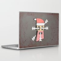 merry christmas Laptop & iPad Skins featuring Merry christmas by AmDuf
