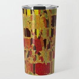 autumn colours abstract 1 Travel Mug